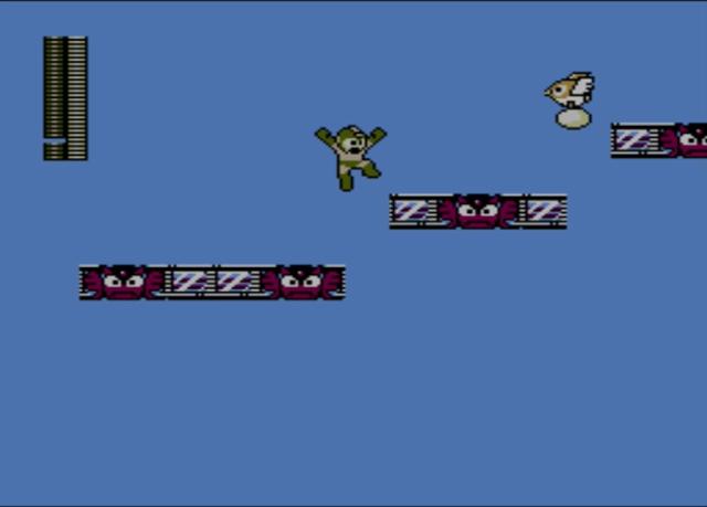 Mega Man 2 screenshot - Air Man