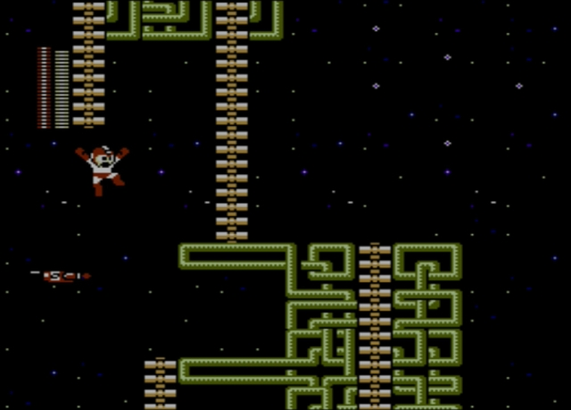 Mega Man 2 screenshot - Crash Man
