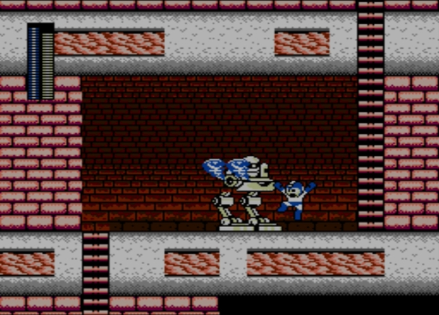 Mega Man 2 screenshot - Heat Man