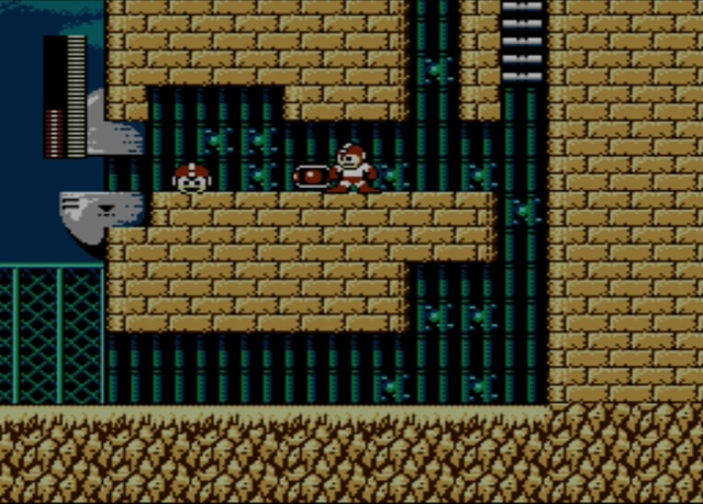 Mega Man 2 screenshot - Stage One