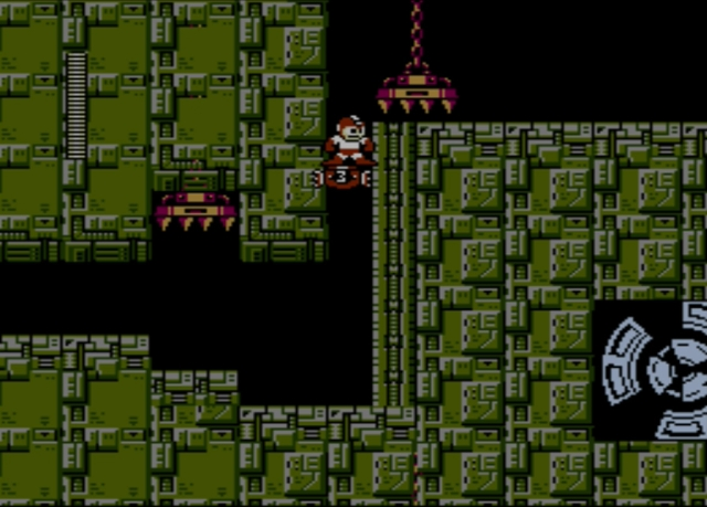Mega Man 2 screenshot - Stage Two