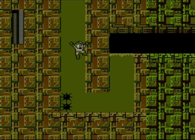 Mega Man 2 screenshot - Stage Three
