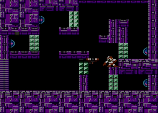 Mega Man 2 screenshot - Stage Four