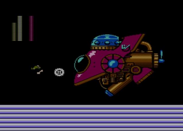Mega Man 2 screenshot - Stage Five