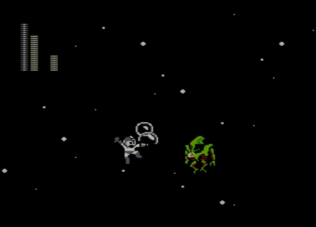 Mega Man 2 screenshot - Stage Six