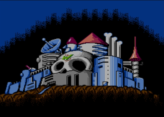 Mega Man 2 screenshot - Dr. Wily's Castle