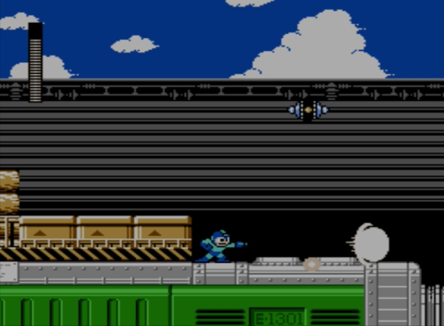 Mega Man 5 screenshot - Charge Man