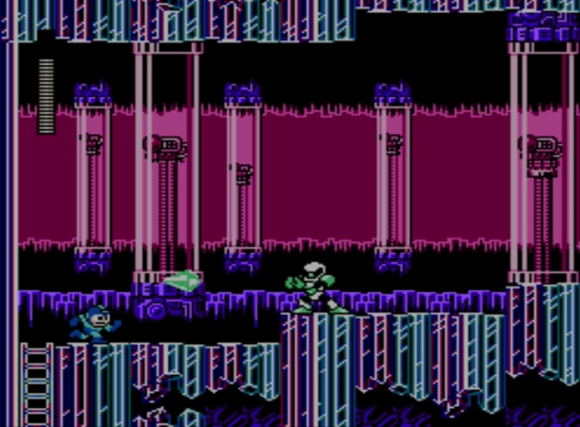 Mega Man 5 screenshot - Crystal Man