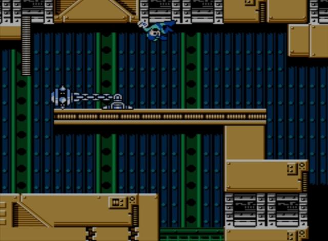 Mega Man 5 screenshot - Gravity Man