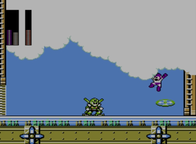 Mega Man 5 screenshot - Gyro Man
