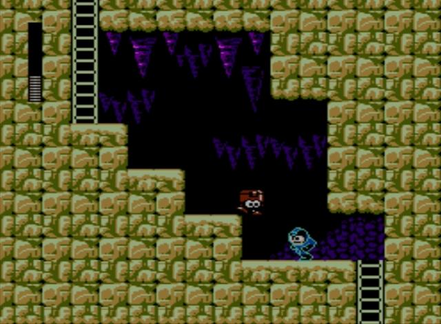 Mega Man 5 screenshot - Napalm Man