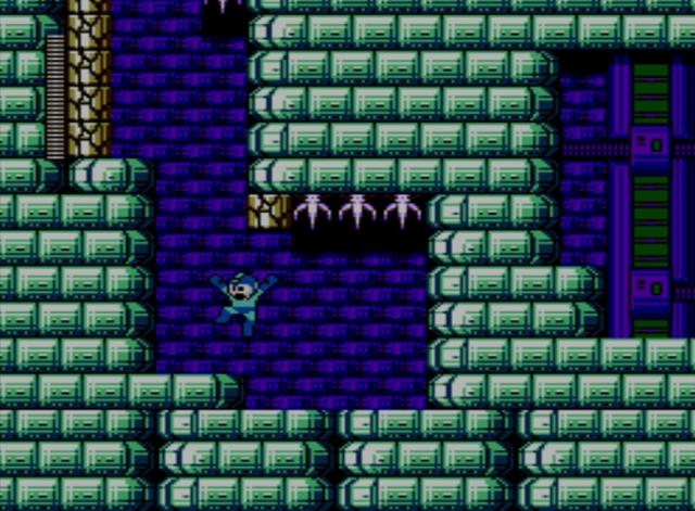 Mega Man 5 screenshot - Stage Four