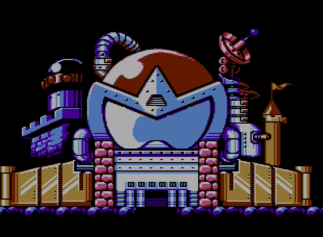 Mega Man 5 screenshot - Protoman's Castle