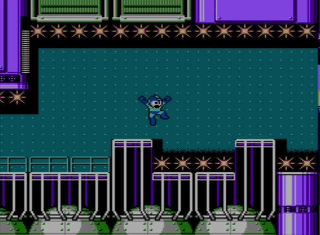 Mega Man 5 screenshot - Star Man