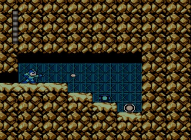 Mega Man 5 screenshot - Stone Man