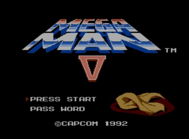 Mega Man 5 screenshot - Basics