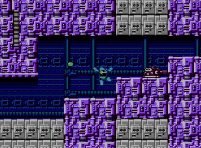 Mega Man 5 screenshot - Stage One