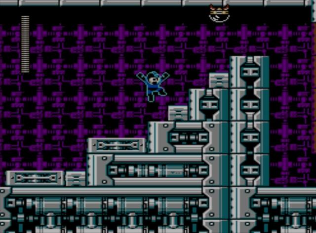 Mega Man 5 screenshot - Stage Two