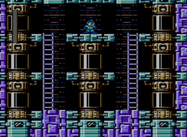 Mega Man 5 screenshot - Stage Three