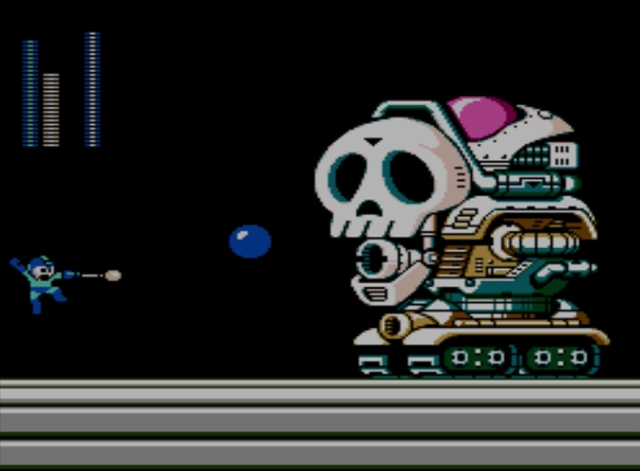 Mega Man 5 screenshot - Stage Four