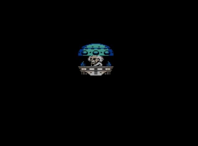 Mega Man 5 screenshot - Dr. Wily's Lab