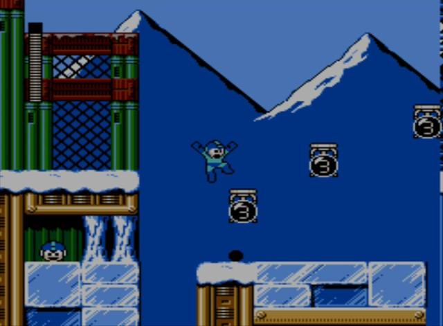 Mega Man 6 screenshot - Blizzard Man