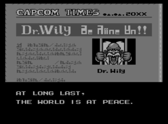 Mega Man 6 screenshot - Conclusion