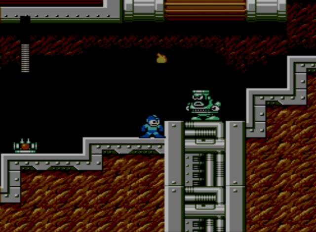 Mega Man 6 screenshot - Flame Man