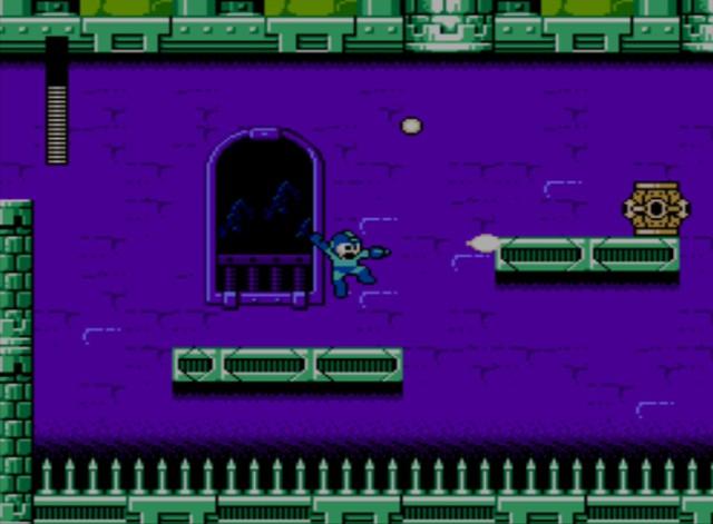 Mega Man 6 screenshot - Knight Man
