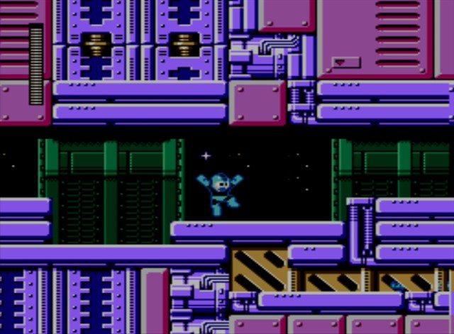 Mega Man 6 screenshot - Stage Two