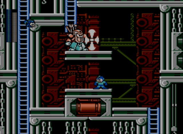 Mega Man 6 screenshot - Stage Three
