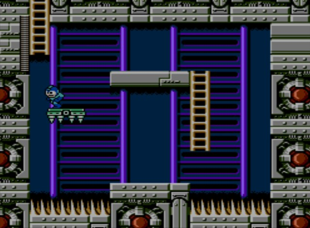 Mega Man 6 screenshot - Stage Four