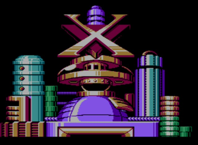 Mega Man 6 screenshot - Mr. X's Fortress