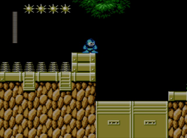 Mega Man 6 screenshot - Plant Man