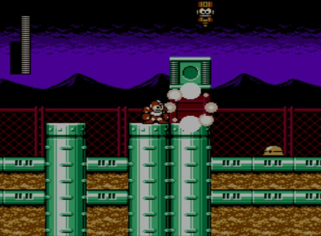 Mega Man 6 screenshot - Stage One