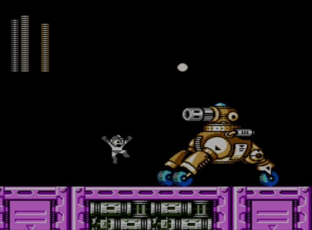 Mega Man 6 screenshot - Stage Two