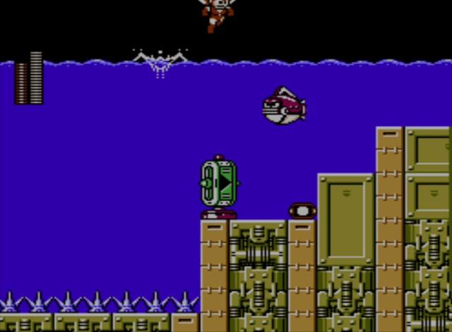 Mega Man 6 screenshot - Stage Three