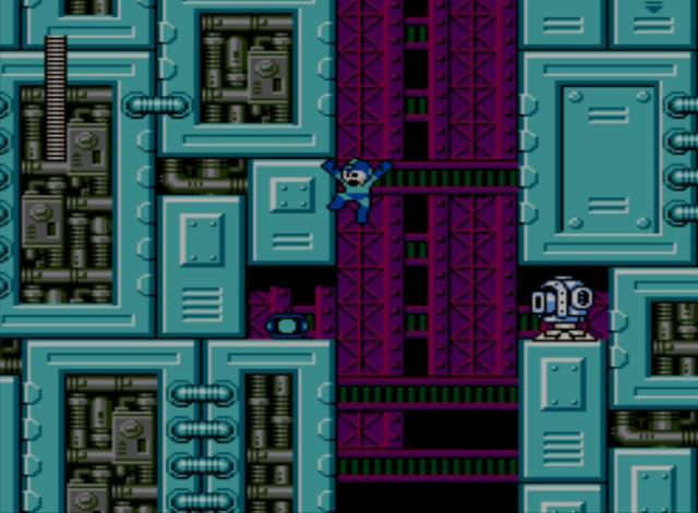 Mega Man 6 screenshot - Stage Four