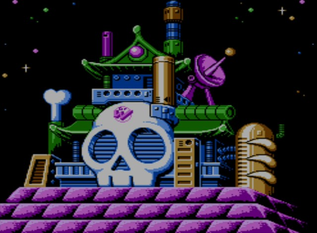 Mega Man 6 screenshot - Dr. Wily's Lab