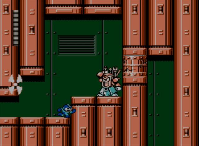 Mega Man 6 screenshot - Yamato Man