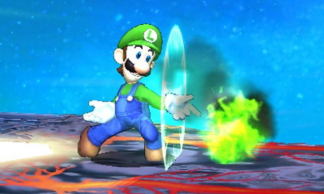 Super Smash Bros. for Nintendo 3DS screenshot - Characters (Page 1)