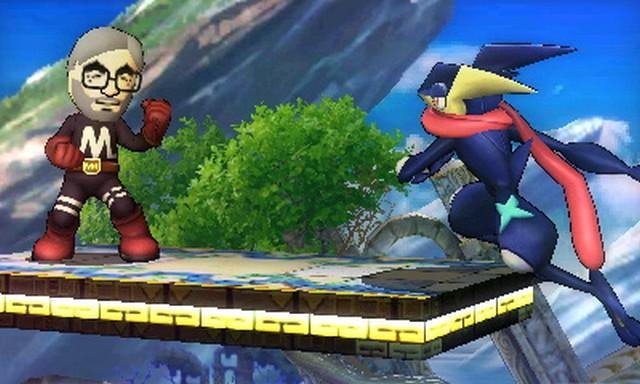 Super Smash Bros. for Nintendo 3DS screenshot - Multi-Man Smash