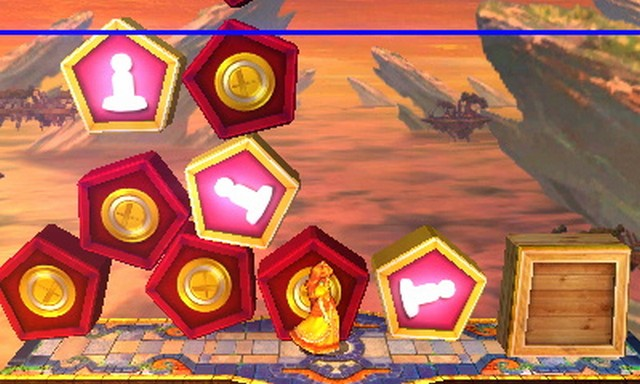 Super Smash Bros. for Nintendo 3DS screenshot - Trophy Rush