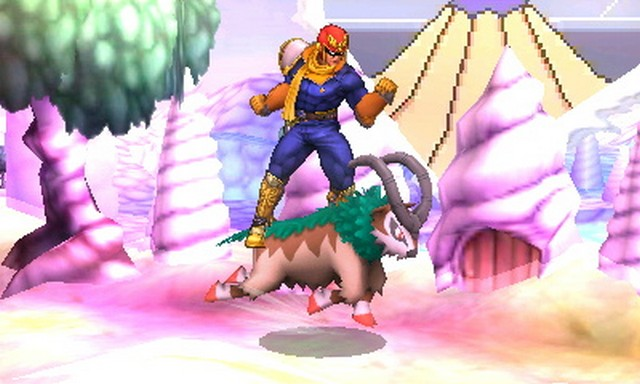 Super Smash Bros. for Nintendo 3DS screenshot - Pokemon