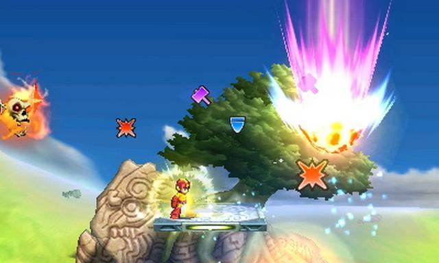 Super Smash Bros. for Nintendo 3DS screenshot - Smash Powers