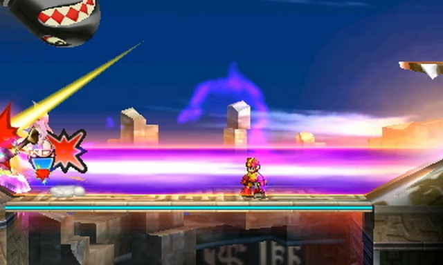 how to use smash ball in super smash bros 3ds