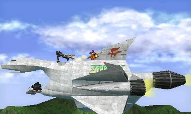 Super Smash Bros. for Nintendo 3DS screenshot - Default Stages