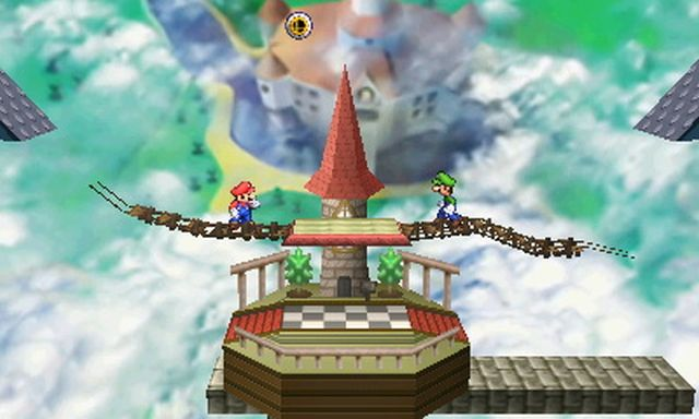 Super Smash Bros. for Nintendo 3DS screenshot - DLC Stages