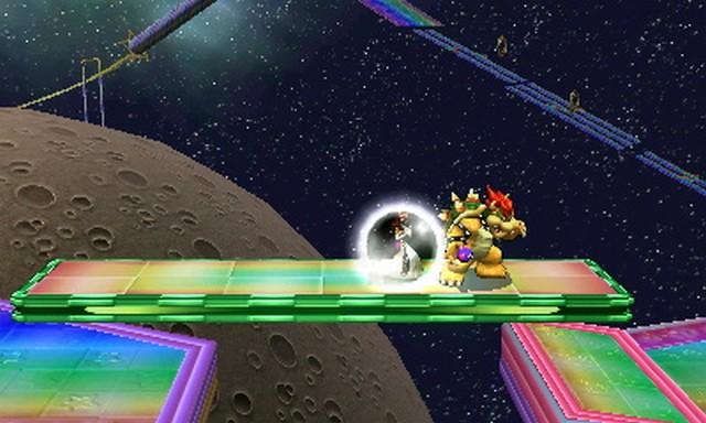Super Smash Bros. for Nintendo 3DS screenshot - Default Stages