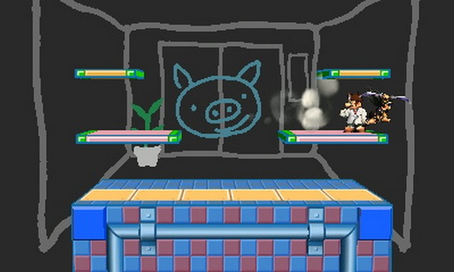 Super Smash Bros. for Nintendo 3DS screenshot - Hidden Stages
